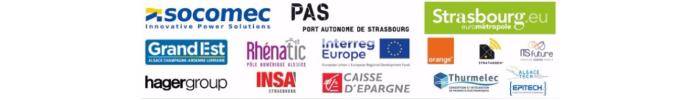 Logos des sponsors de l'évènement