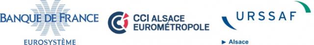 Logo Banque de France - CCI Alsace Eurométropole - URSSAF